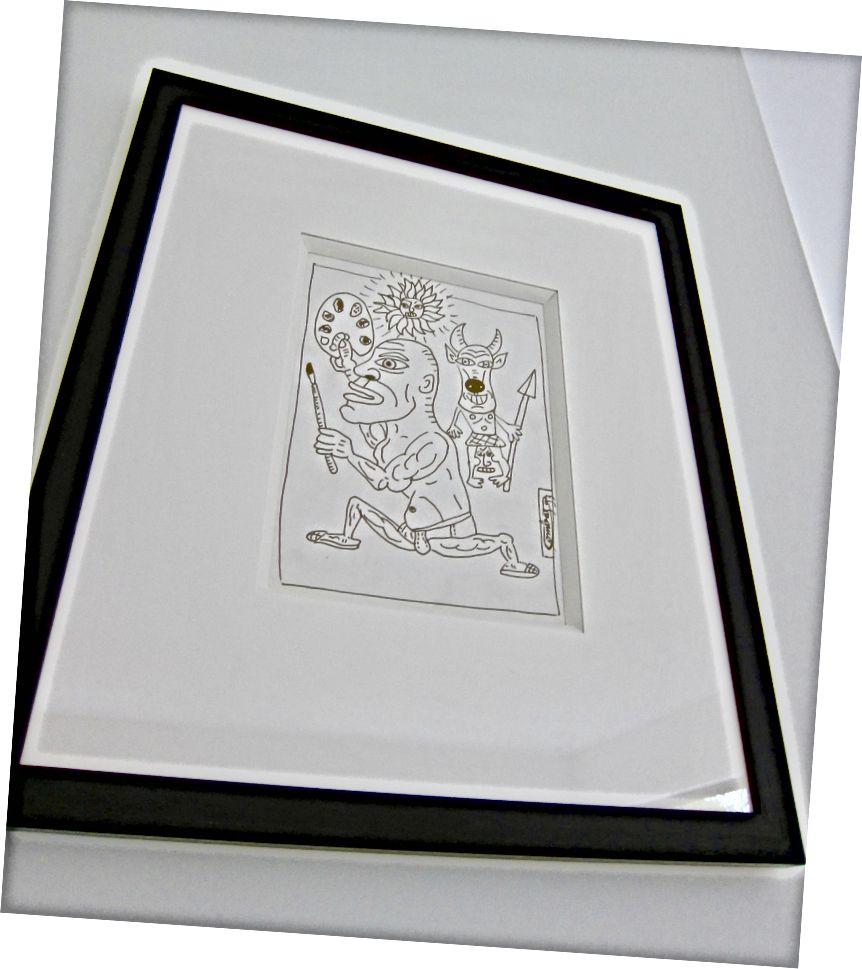 పికాసో ఫైట్ లే కాన్ అవెక్ అన్ మినోటూర్ ఇడియట్, 1993 - రాబర్ట్ కాంబాస్