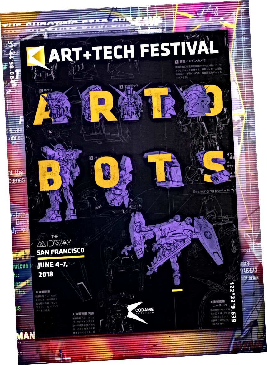 CODAME ART + TECH фестивал [2018] #ARTOBOTS