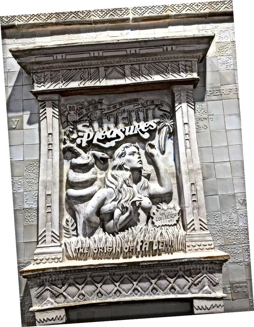 ব্যর্থ নমুনা বাইরের বিশদ। এফআইএল দ্বারা ভাস্কর্য।