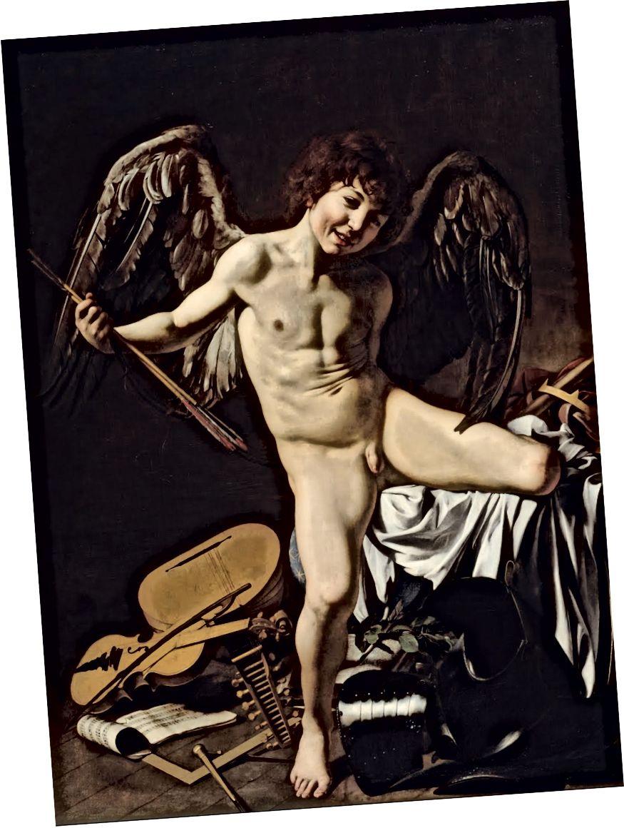 Caravaggio, Amor Vincit Omnia dövrə 1601