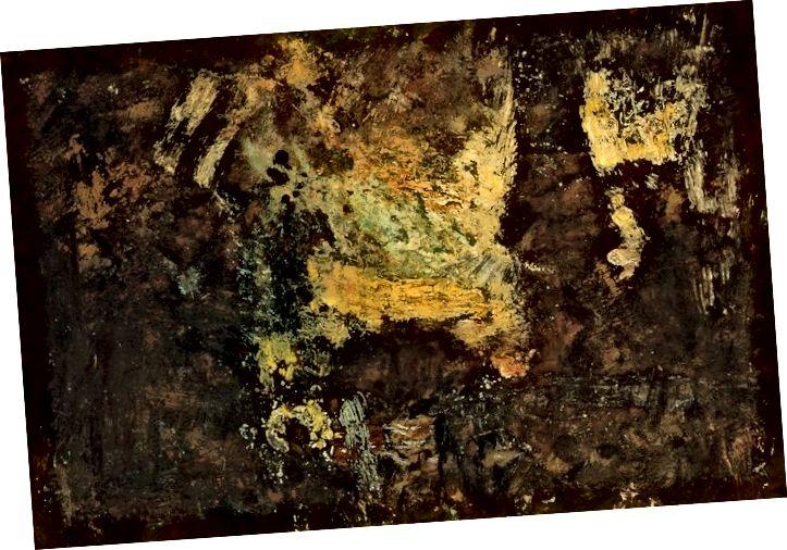 """Světlo hodné Whistlera (detail """"A Garden Fete"""")."""