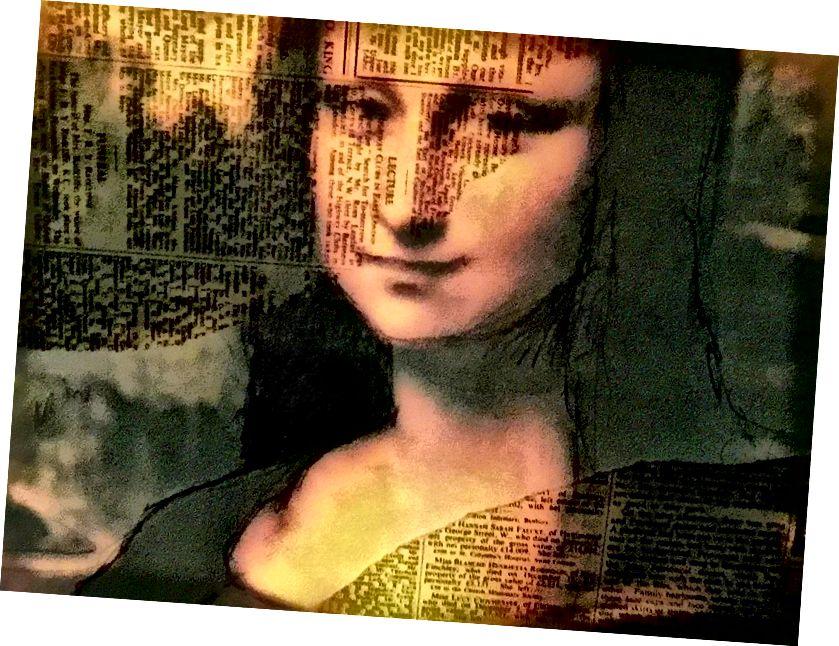 Mona Lisa Enigmatica, von ennyman, 2018