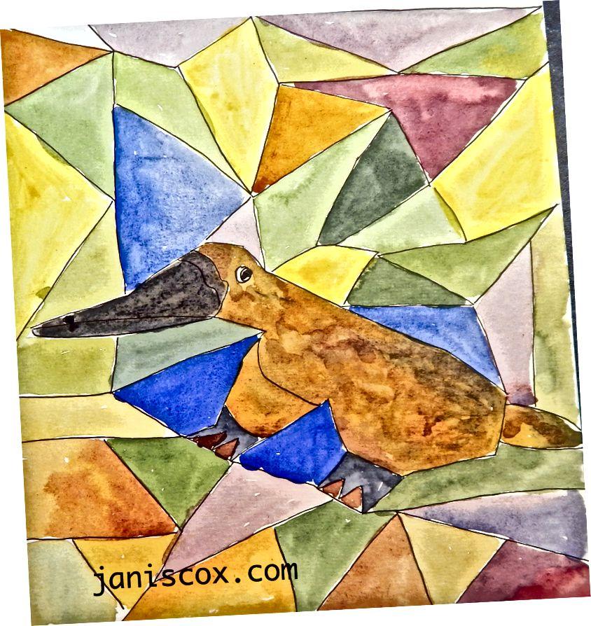 Platypus door Janis Cox