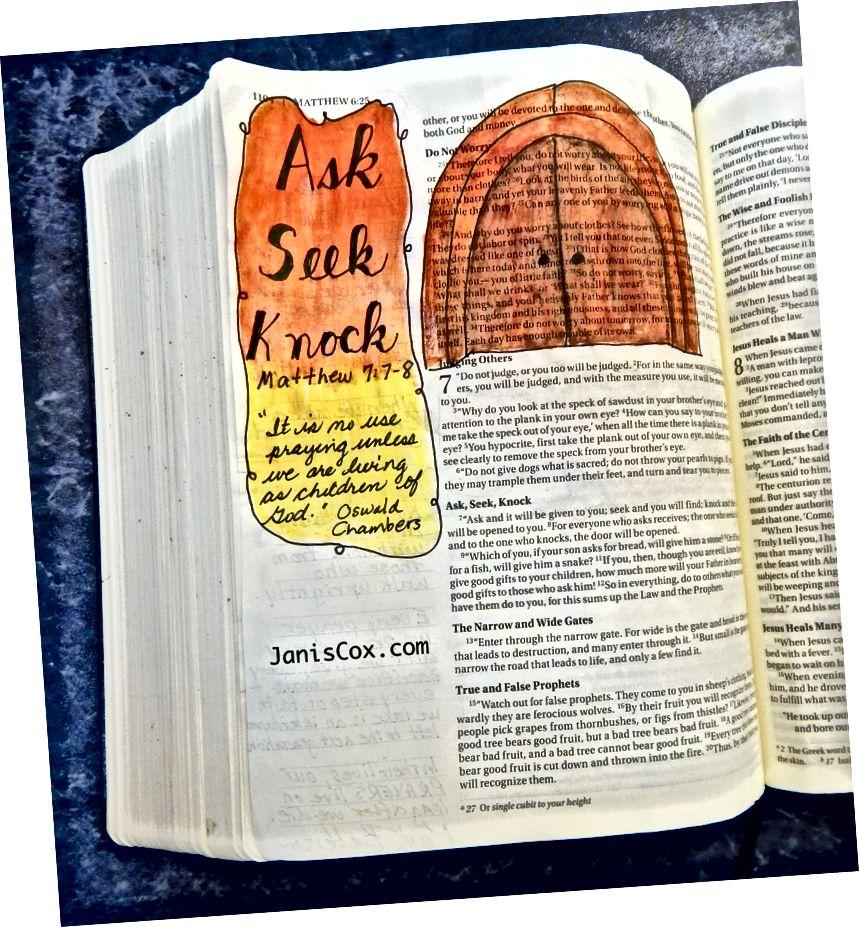 Bible Art - Janis Cox - Ingyenes tanfolyam érhető el