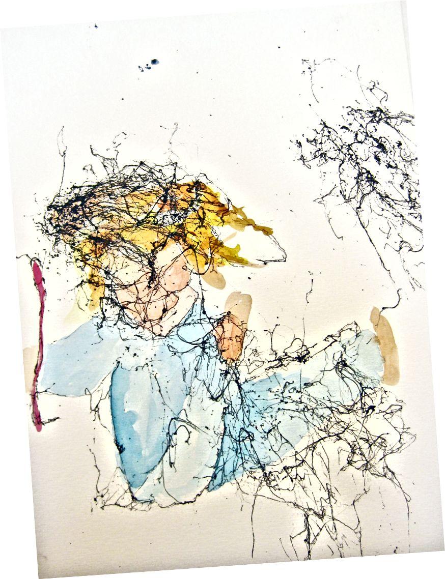 Akvarell - Janis Cox még nem kész Istennel