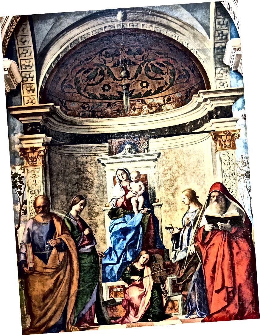 「サンザッカリア祭壇画」の詳細。 ソースウィキアート