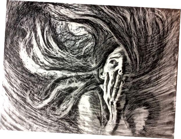 """Afraid"" © 2017 Jessica Peterson"