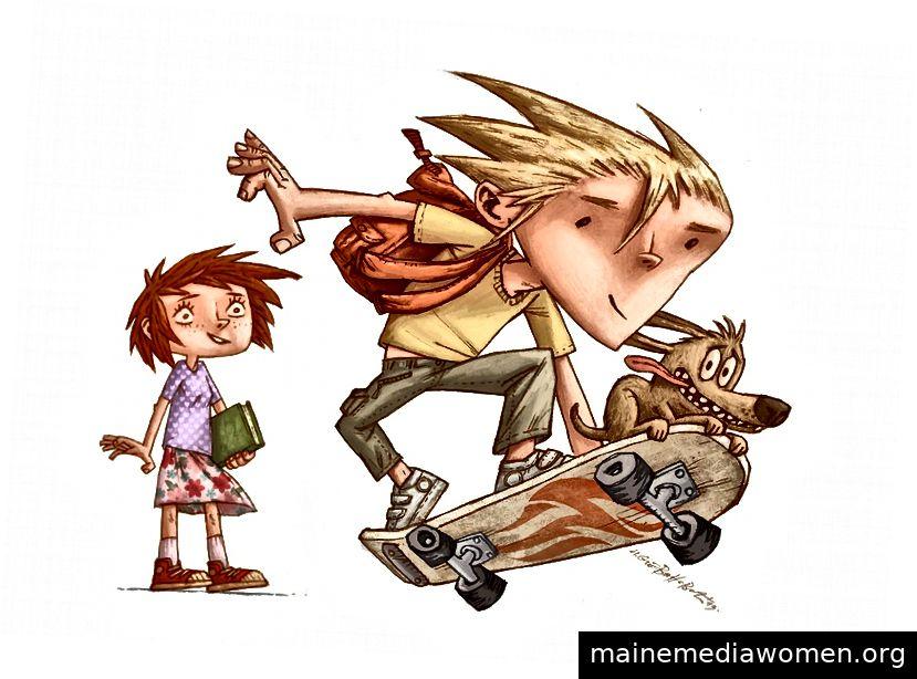 Promo Art II - Illustrationen für Kinderbücher von Ivica Stevanovic