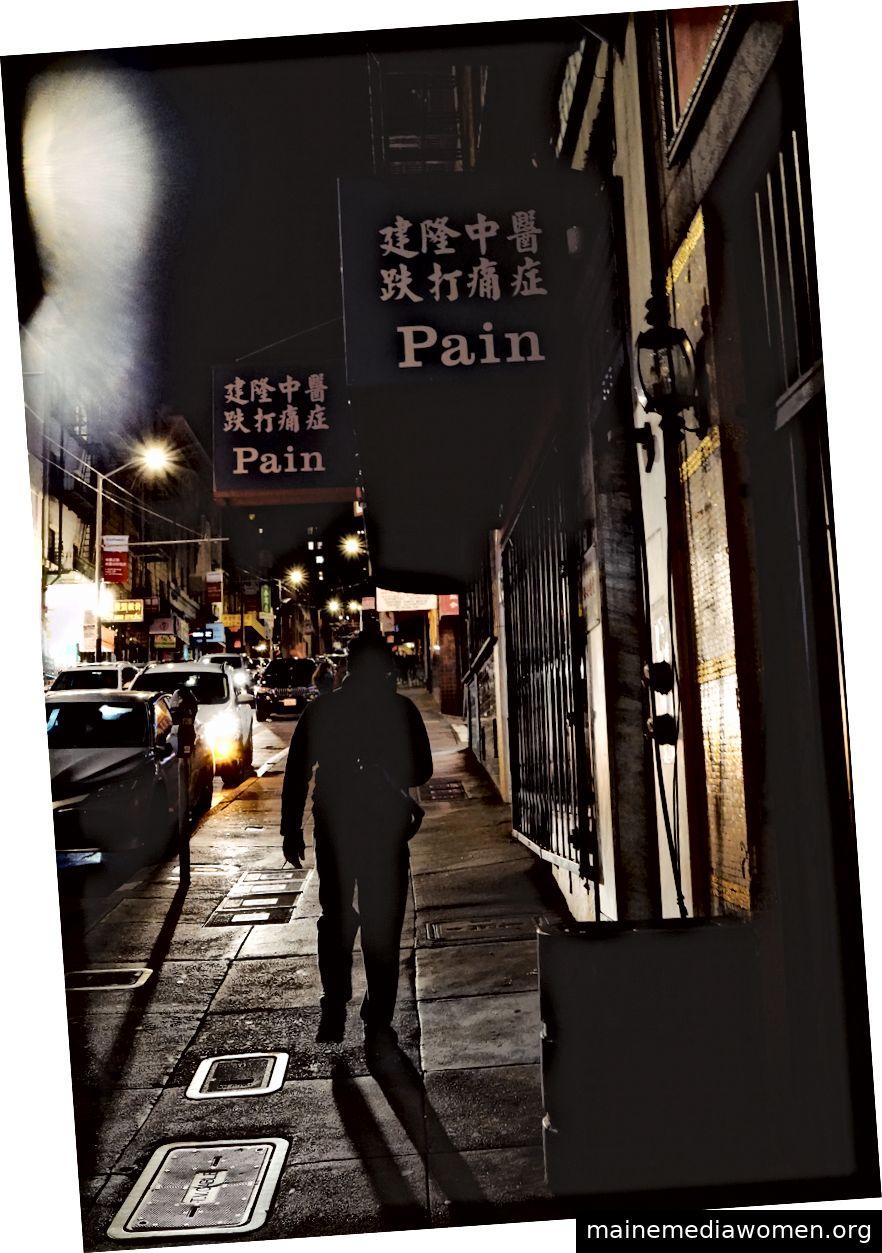 Schmerzen! - Chinatown, San Francisco