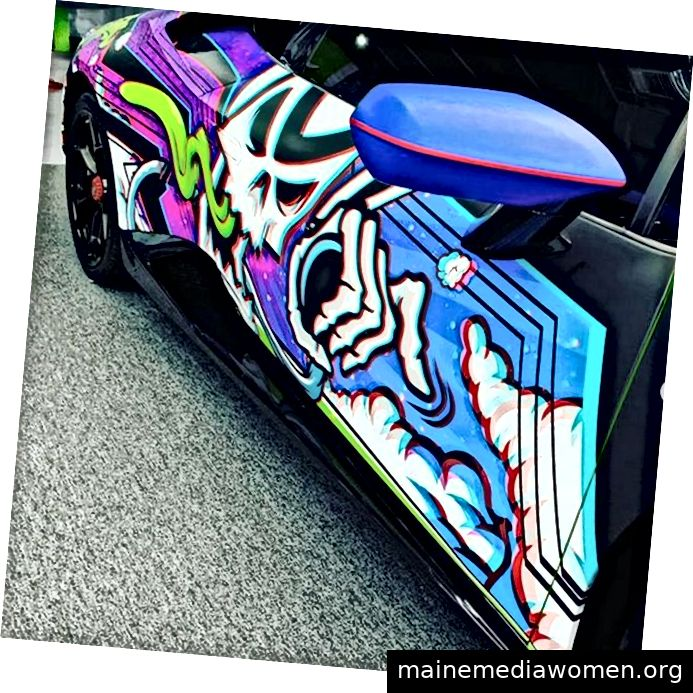 Das Wrap Institute LIVE Miami 3D Fahrzeugverpackungsvinyl