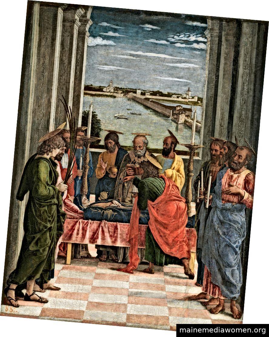 """Der Tod der Jungfrau"" von Andrea Mantegna (ca. 1431–1506). Quelle"