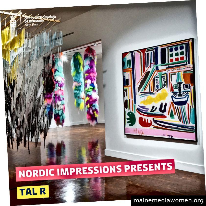Der dänische Künstler Tal R wird in der Ausstellung Nordic Impressions zu sehen sein.