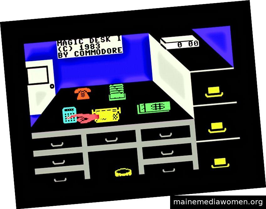 Screenshot von Magic Desk.