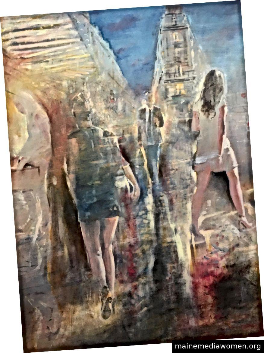 Gregg Chadwick Bookseller´s Nachtöl auf Leinen 2019