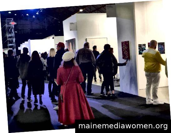 Kunstmesse für zeitgenössische Kunst in Los Angeles; Foto von Kathy Leonardo; Mit freundlicher Genehmigung von LAArtParty.com
