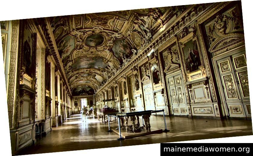 Apollo Gallery • Louvre-Museum