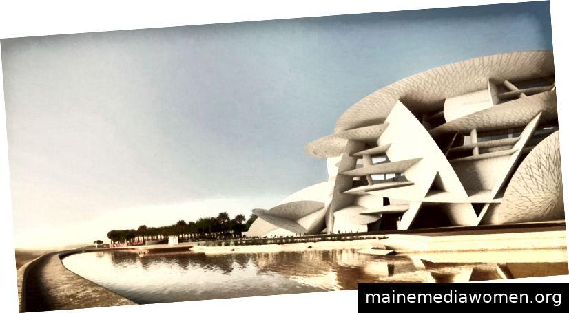 Das Nationalmuseum von Katar - Jean Nouvel