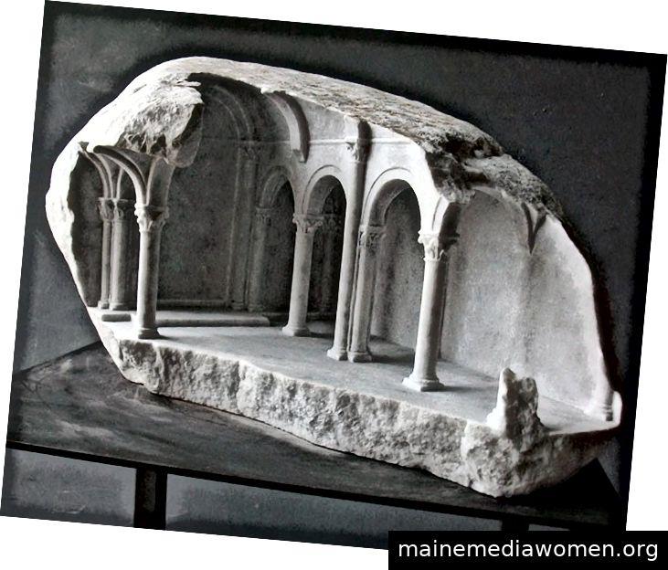 Mars Ultor (Carrara-Marmor), Cube (Statuenmarmor), Basilika III (Carrara-Marmor)