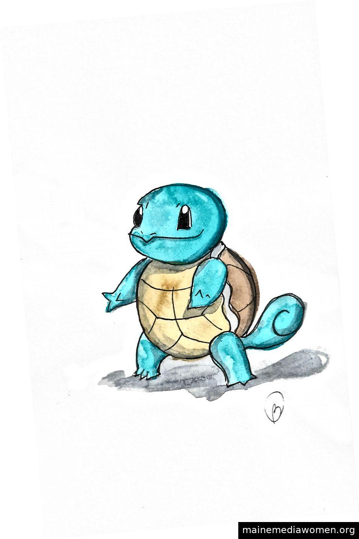 DYK? Squirtle ist nach wie vor eine der berühmtesten Kreaturen der gesamten Pokémon-Reihe.