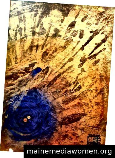 Nyuka Anaïs Laurent Brunnen der Seelen, c. 2008 Gemischte Medien Privatsammlung