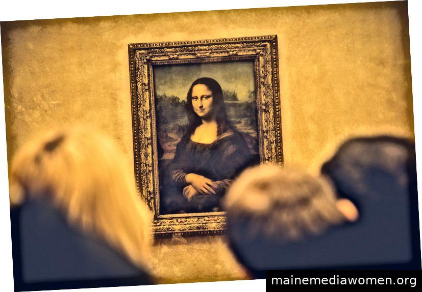 La Gioconda, Musée du Louvre, mit freundlicher Genehmigung von Eric Terrade.