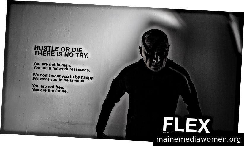 FLEX ist das Wort und das Wort ist endgültig. Foto: Raimund Verspohl.