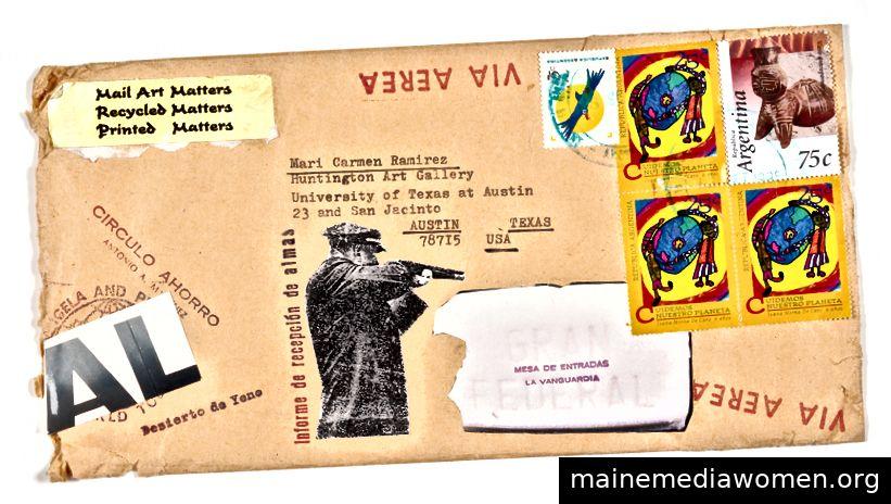 Der Umschlag des Künstlers