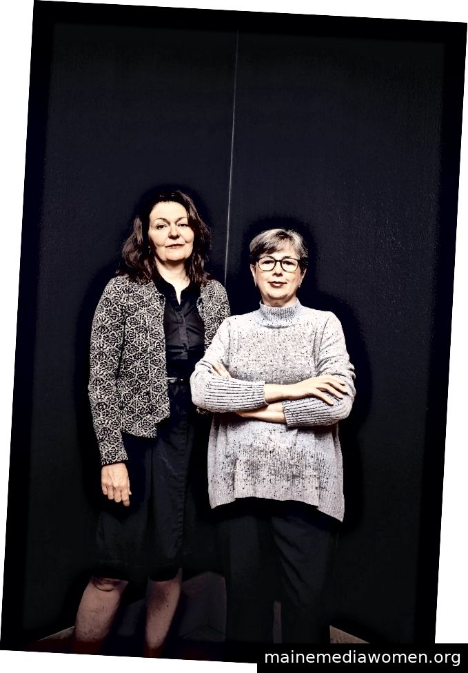 Beverly Adams und Florencia Bazzano. [Matt Wright-Steel]