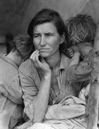 """Migrant Mother"" von Dorothea Lange"