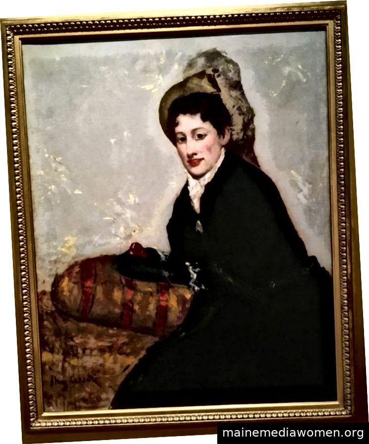 Porträt von Madame X 1877–1878 für die Matinee von Mary Stevenson Cassatt.