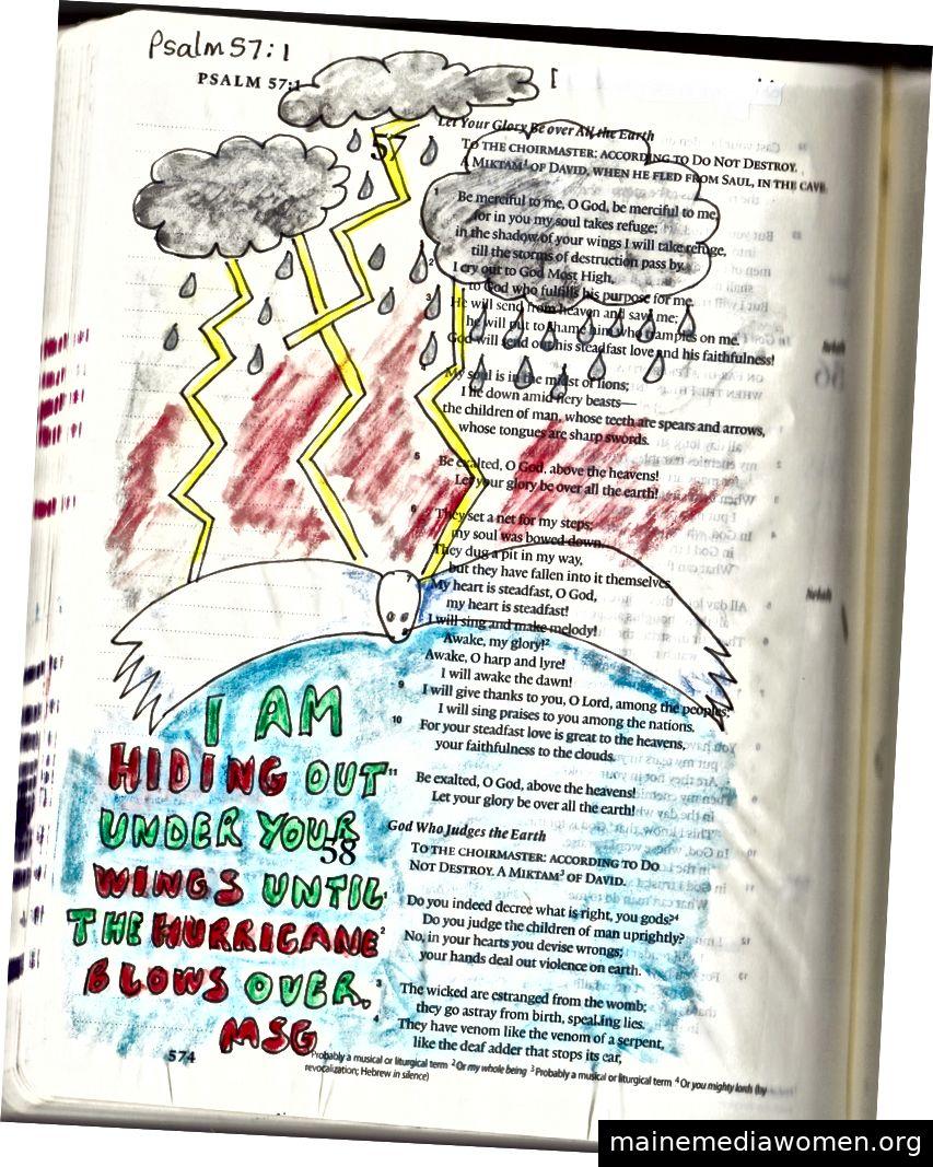 Bibelkunst von Janis Cox - persönliche Sammlung.