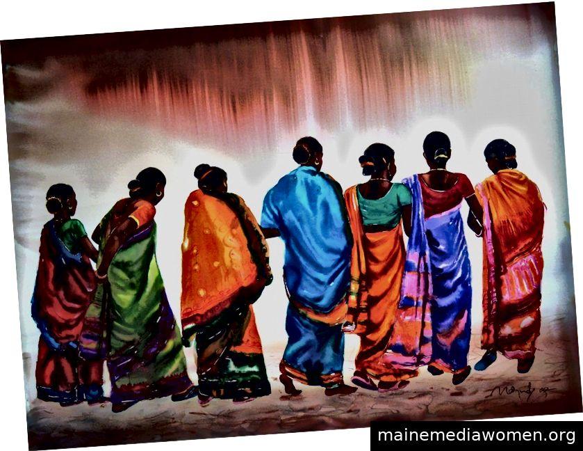 Damenfunktion von Dinbandhu Marndi