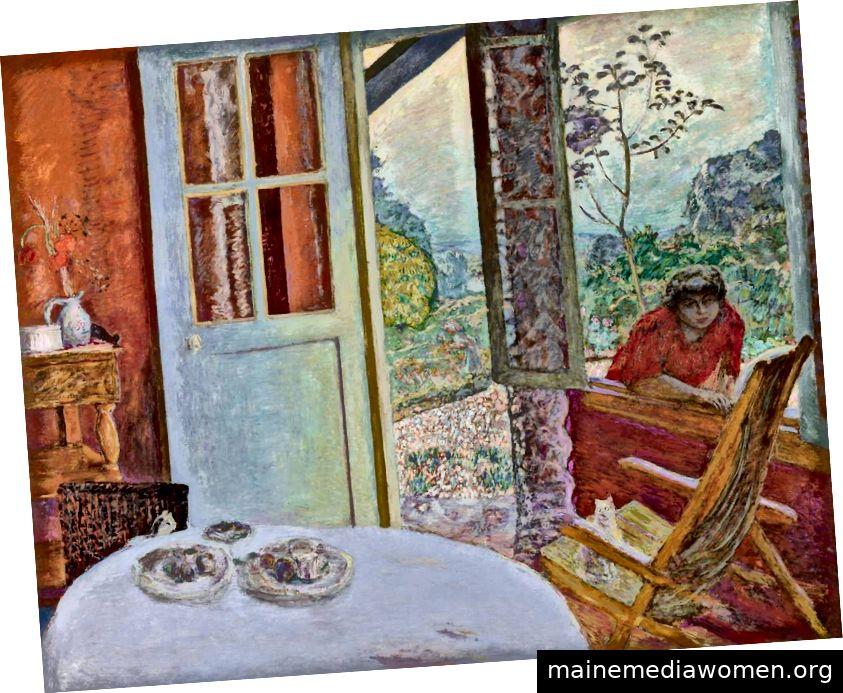 """Pierre Bonnard, """"Esszimmer im Land"""", 1913, Foto: 2006"""