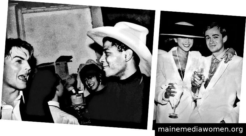 Matt Dike, Jean-Michel Basquiat und Glenn Williams Freundin   Glenn Williams mit seiner Freundin, 1982