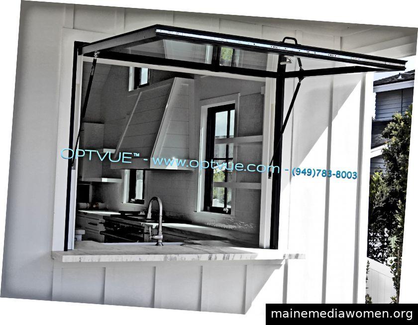 Fenster umklappen, wie von OPTVUE ™ hergestellt