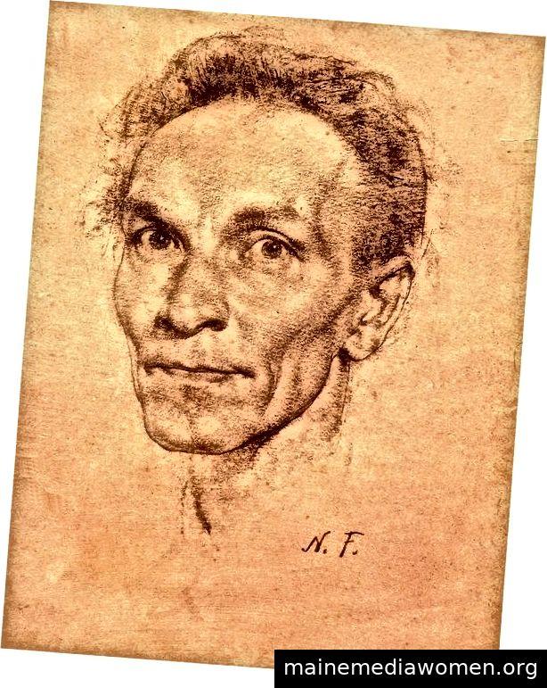 Nicolai Fechin (Kohle)