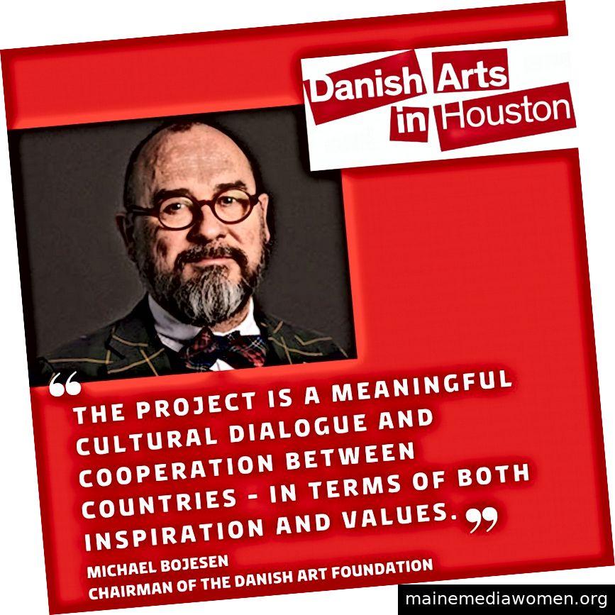 Michael Bojesen, Vorsitzender der Danish Art Foundation
