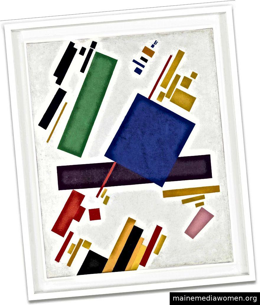 Kasimir Malevich, Suprematist Composition, 1916