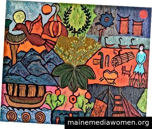 Von Artist Radhika Rani