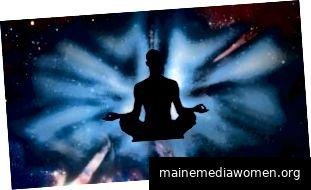 Es ist erwiesen, dass es sich nicht um Hokuspokus handelt, luftige Fee. Meditation erzeugt tatsächlich klarere, fokussiertere Köpfe UND reduziert Stress. (Bildnachweis: unbekannt)
