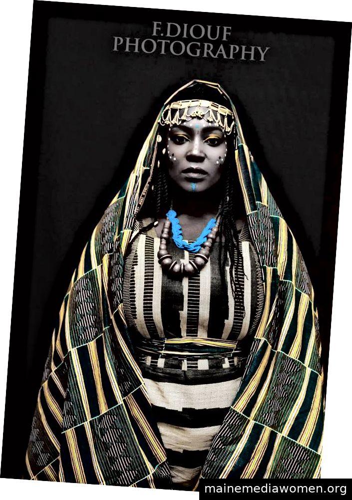 Afrikanerin Mona Lisa