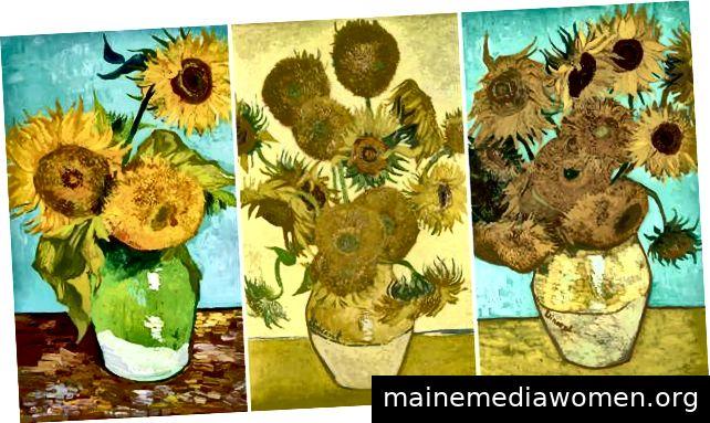 Van Goghs Sonnenblumen