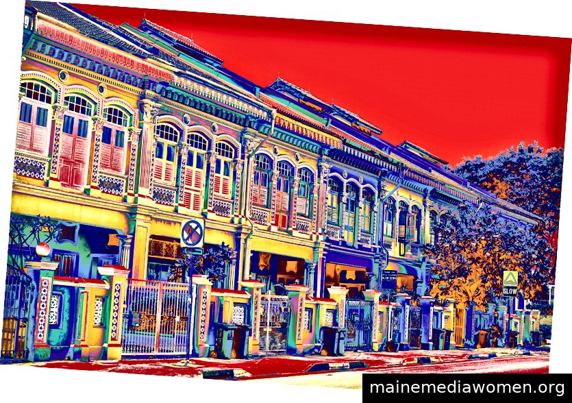 Joo Chiat Shophouses - Rot