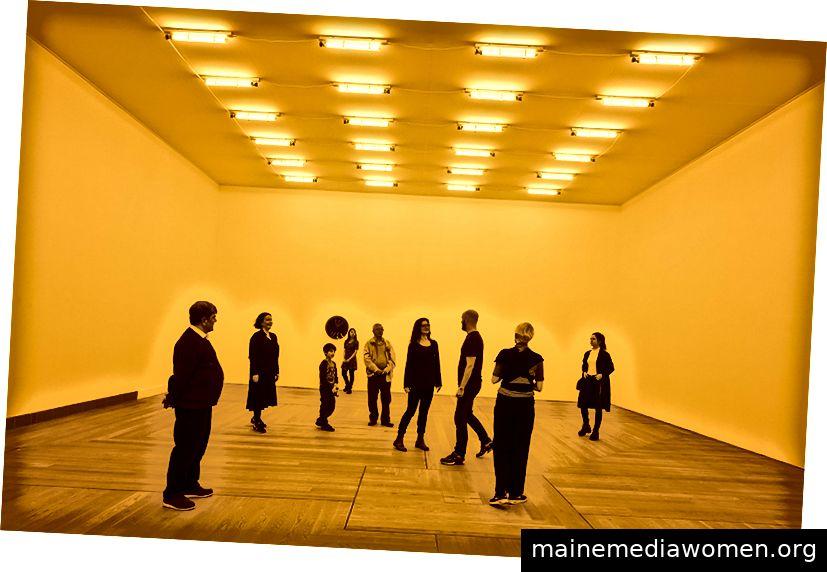 Olafur Eliassons Zimmer für eine Farbe