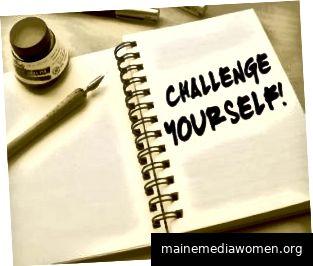 Herausforderungen können dabei helfen, die Angst von Ihnen zu nehmen. (Bildnachweis: unbekannt)