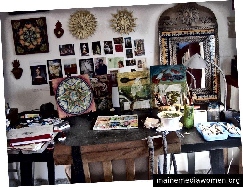 Studio in Mexiko, Foto: Linda Laino
