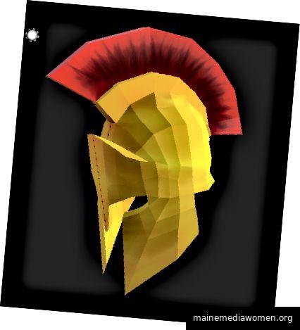 Mein neuer spartanischer Helm, texturiert in Substance Painter.
