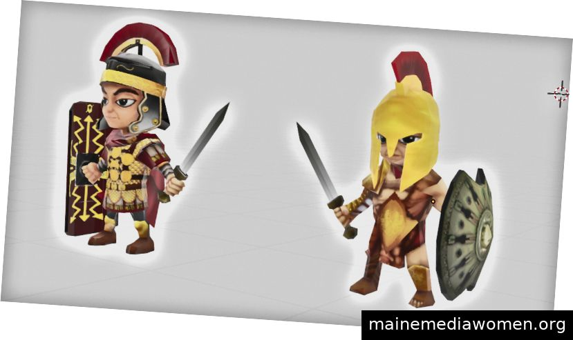Die Krieger bereit zum Kampf! Mixer 2,80
