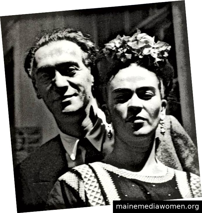 Nickolas Muray und Frida Kahlo von Nickolas Muray.