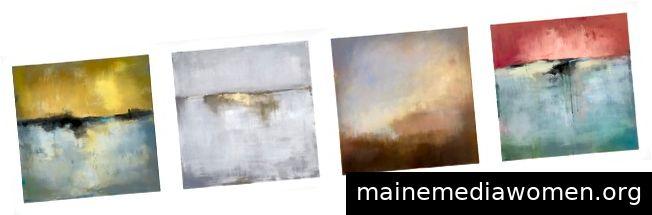 Abstrakte Landschaften von Jacqui Gouveia